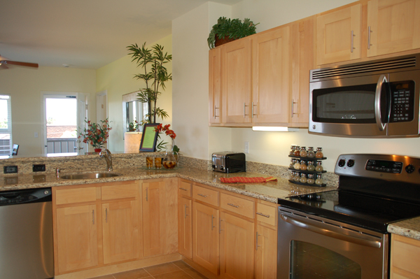 Photo Gallery | Natural Maple cabinets with St. Cecilia ... on Granite With Maple Cabinets  id=40173